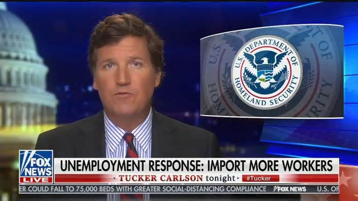 "Tucker Carlson: Donald Trump needs to ban ""legal immigration in order to protect the nation"""