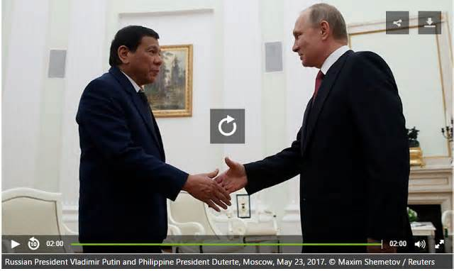 We Need Modern Weapons Duterte Meets Putin Cuts Trip